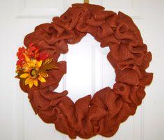 Autumn harvest wreath, fall, thanksgiving