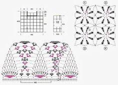 Crochet Sweaters: Crochet - Women's Sweater - Beautiful Sweater Gives Gypsy Look