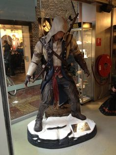 Assassin's Creed III - Connor statue