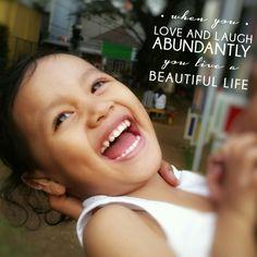 Love and laugh abundantly *Fayvel Beatrix Norets*