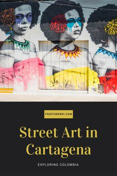 Things to Do Cartagena Colombia , tour street art - travel
