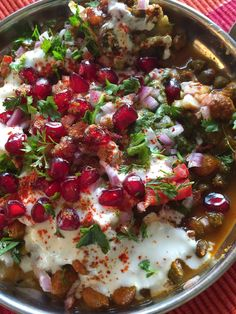 Sizzling Tastebuds: Tikki Chole Chaat | Spicy Chaat recipes