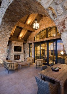 Paula Berg Design Associates #mountain #architecture #stone #texture #outdoor #design #utah