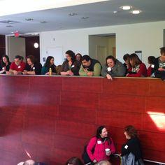 The crowd! #pcwm