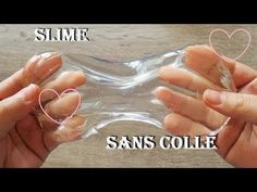 Faire Du Slime Sans Colle C Est Possible Youtube Slime Sans Colle Recette De Slime Slime