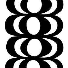 Make Designed Objects : Marimekko Fabric - Kaivo Black