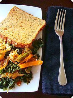 ... Tofu Breakfast Scramble | Recipe | Tofu Scramble, Tofu and Vegan Tofu