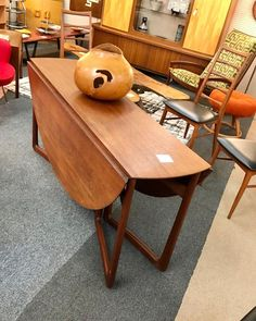 "TEEGEEBEE midcentury on Instagram: ""And the early bird strikes! This Peter Hvidt for France and Son of Denmark drop leaf dining table SOLD before I could post! #peterhvidt…"""