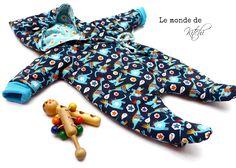 Minikrea Babyoverall 10550 (modifiziert durch mich)