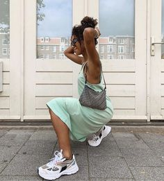 Image may contain: one or more people, shoes and outdoor Weird Fashion, Black Girl Fashion, Trendy Fashion, Fashion Outfits, Pretty Outfits, Cute Outfits, Together Fashion, Europe Outfits, Mode Inspiration