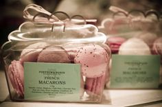 Fresh macaroons in a lovely package PD