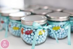Cute party favor for a mermaid party!