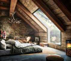 #bedroom #view#trees