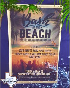 Bash at the beach tickets still up for grabs!!! Come in today and sign up for your chance to win!!! No purchase necessary!!! #breatheinvapeout #bashatthebeach #concretestreet