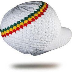 Reggae Rasta Hat Roots Jamaica One Love Marley Rastafari Africa Selassie M/L Fit
