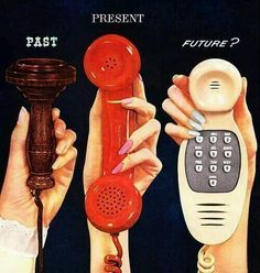 """The future of the mobile phone"", 1956"