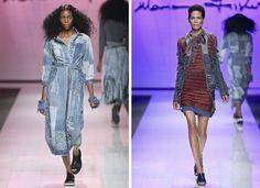 2015 Mercedes Benz Fashion Week Joburg « Marianne Fassler Tags: African prints, Animal prints, Women's wear, indigo, denim, sustainable Scrap Material, African Design, African Prints, Sustainable Design, Animal Prints, Frocks, Tartan, Mercedes Benz, Indigo