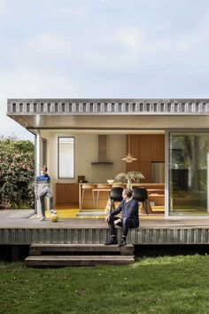 Image 2 of 15 from gallery of Yolk House / Pac Studio. Photograph by David Straight Old Building, Building A House, Steep Staircase, Western Living Rooms, Studio Floor Plans, New Zealand Architecture, Aluminium Cladding, Architect House, Old Houses