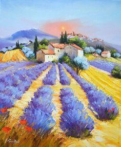 Watercolor Landscape, Landscape Art, Landscape Paintings, Watercolor Paintings, Painting Abstract, Acrylic Paintings, Oil Painting App, Arte Van Gogh, Scenery Paintings