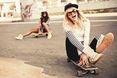 Skater girls by Andrew Bayda