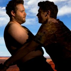 Seth Rogen James Franco in 'Bound 2' Spoof...too funny and so much better than the Kimye version... :-P