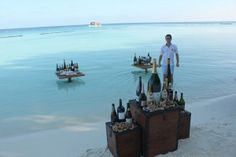 Wine tasting at luxury barefoot resort Constance Moofushi, Maldives Maldives Resort, Maldives Travel, Traveling Vineyard, Maldives Holidays, Water Villa, Water Into Wine, Wine Deals, Wine Quotes, Wine Delivery