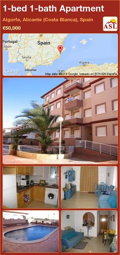 1-bed 1-bath Apartment in Algorfa, Alicante (Costa Blanca), Spain ►€50,000 #PropertyForSaleInSpain