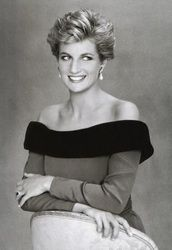 Diana in black and white - Princess Diana Remembered