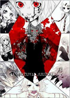 Por isso que eu sou tão fã do Juuzou,o cara é psicopata mano e infantil/que nem eu O-O/kkkk