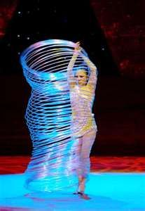 vietnamese acrobat performs a hula hoop dance at the china wuqiao ...