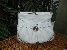 VALUE PRICED!~~ B. MAKOWSKI Leather Bag Purse Soft Supple Thick Leather Cargo Pockets on Front - Handbags & Purses