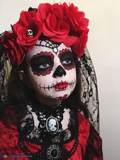 La Muerte Costume - Halloween Costume Contest via @costume_works