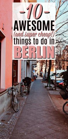 These budget travel ideas are THE BEST! I'm so glad I found these AMAZING tips on what to do in Berlin on a budget. Now I have some great travel tips for my Berlin trip! #berlin #berlintravel #berlintraveltips #budgettravel #budgettraveltips #traveltips