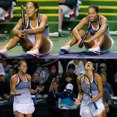 Madison Keys is no longer in the #BNPPO16 draw, but these emotional pics are living on.
