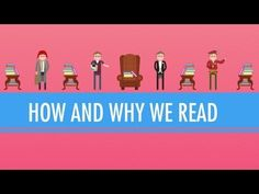 How and Why We Read: Crash Course English Literature Published on 15 Nov 2012 In which John Green kicks off the Crash Course Literature mini series with a reasonable set of questions. Why do we read? What's the point of reading critically. Crash Course Literature, Ap Literature, Teaching Literature, Teaching Reading, Classic Literature, Reading Resources, Reading Strategies, Reading Activities, English Classroom