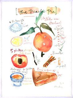 sweet gift idea - original recipes made into art.
