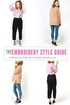 How I Style Embroidery Part featuring New Look! Band Tees, Suits You, Alternative Fashion, Jumpers, Ripped Jeans, Cruelty Free, Style Guides, New Look, Blogging