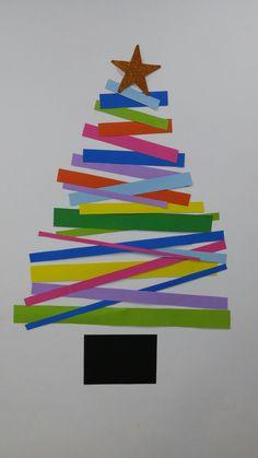 Arbol navidad fácil. Colores