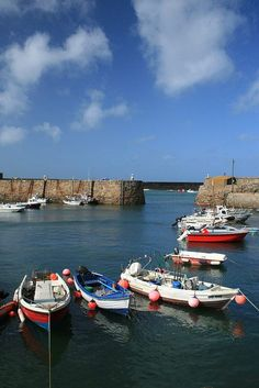 Harbour, Alderney - three minutes from my front door, and an excellent place to walk to and around when my brain hurts.