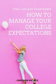 Excited for college? We're talking about expectations on the blog!