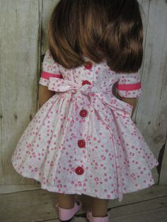 18 Inch Doll Clothes American Girl 1940s Pink by nayasdesigns