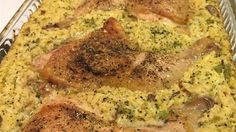 Chicken leg quarters baked with rice in a creamy broccoli mixture. I dislike most convenience food recipes, but I feel that this one's a winner, as it's not only fast but healthy too!