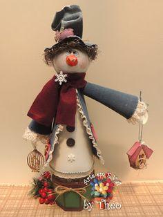 Peças Natal Promoção Christmas Pasta, Polymer Clay Christmas, Christmas Room, Christmas Snowman, Christmas Holidays, Christmas Crafts, Christmas Decorations, Xmas, Christmas Ornaments