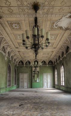 Retrieving the glory of the forgotten ruins in Europe- urban exploration photos by Kenneth Provost