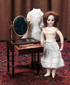 Keeper of the Dolls : 244 Charming Petite French Bisque Bru,Size 2/0,as Poupee