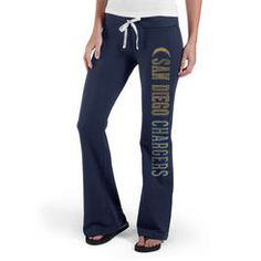 San Diego Chargers  47 Brand Womens Pep Rally Pants - Navy Saints 9b78ede07