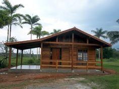 Casa pre fabricada madeira