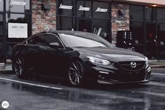 Classy Owner : @southrnfresh #stance #atenza #mazda6 #slammed #low #lowered…