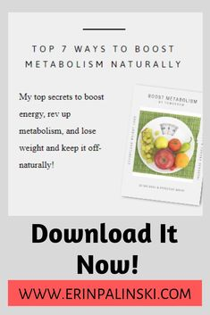 Top 7 ways to boost metabolism naturally. #metabolism #metabolism_boosting #energy   #energyboost  #fitness #fitnesstips #healthylife #books #healthbooks