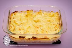 gratin-de-celeri-rave Veggie Recipes, Healthy Recipes, Celerie Rave, Batch Cooking, Lasagna, Mashed Potatoes, Macaroni And Cheese, Side Dishes, Food And Drink